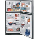 GE PTE22LBT 22 Cu. Ft. Profile Top Mount Refrigerator