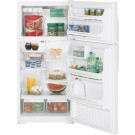 GE GTE16HBW 16 Cul Ft. Top Mount Refrigerator