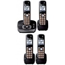 Panasonic KX-TG4034B 4034 B Cordles Phone for 110/220volts