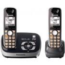 Pnanasonic KX-TG6532B Cordless Phone 110-220 volts