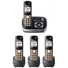 Pnanasonic KX-TG6534B Cordless Phone 110-220 volts