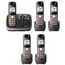 Panasonic KX-TG6545b Cordles Phone for 110/220volts