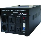 LiteFuze Heavy Duty LT-5000 Watts Voltage Converter Transformer
