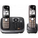 Panasonic KX-TG6542B 6542 B Cordles Phone for 110/220volts