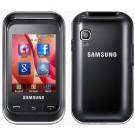Samsung C3300/C3303 Champ Deep Black Unlocked Gsm Phone